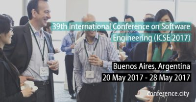 ICSE 2017 - 39th International Conference on Software Engineering