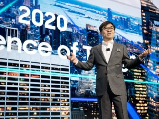 CES 2018 -Hyunsuk (HS) Kim, President, Head of Samsung's Consumer Electronics Division and Samsung Research