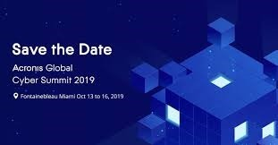 Acronis Global Cyber ​​Summit 2019